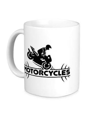 Керамическая кружка Motorcycles