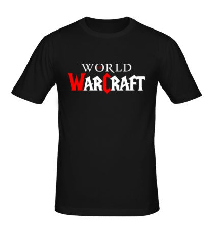Мужская футболка WoW Logo