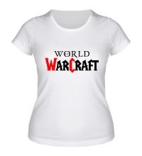 Женская футболка WoW Logo