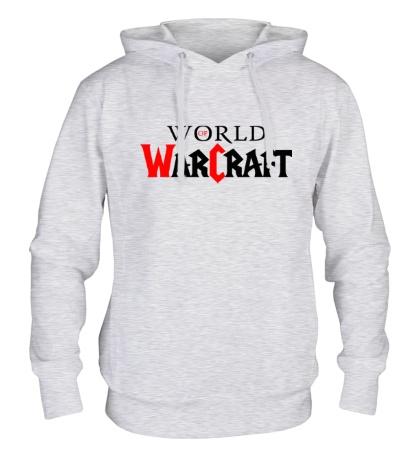Толстовка с капюшоном WoW Logo
