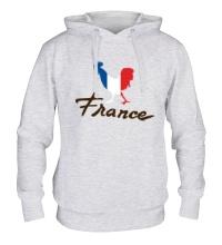Толстовка с капюшоном France