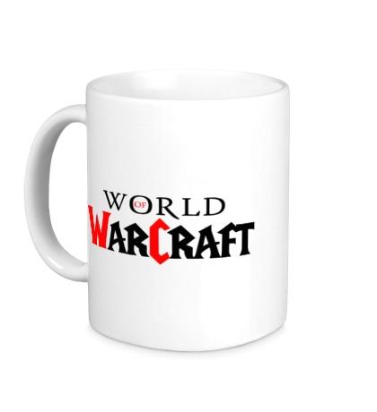Керамическая кружка WoW Logo