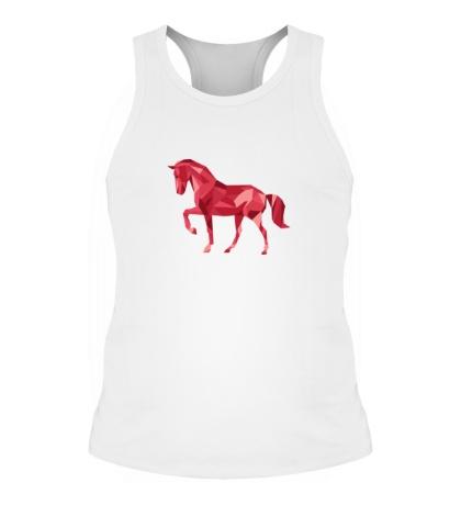 Мужская борцовка Абстрактный конь