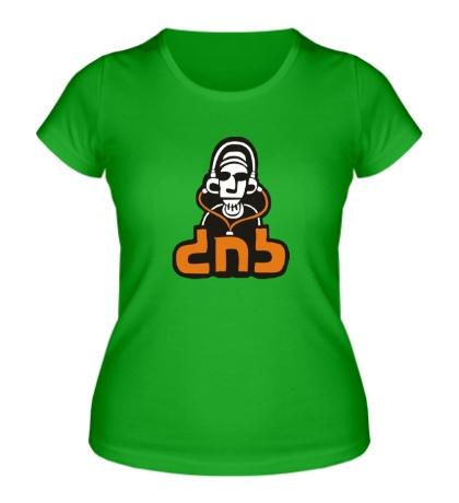 Женская футболка DnB