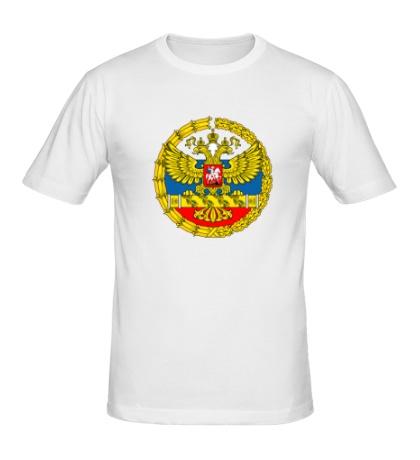 Мужская футболка Герб ВС РФ
