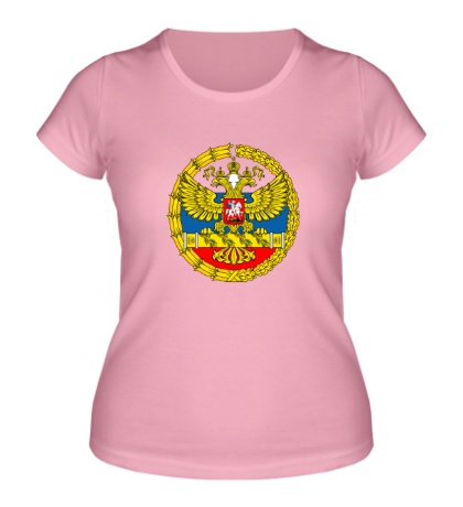 Женская футболка Герб ВС РФ
