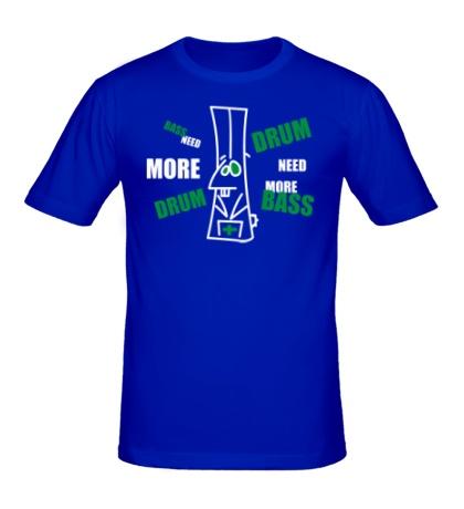 Мужская футболка Need more dnb