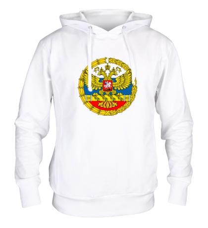 Толстовка с капюшоном Герб ВС РФ
