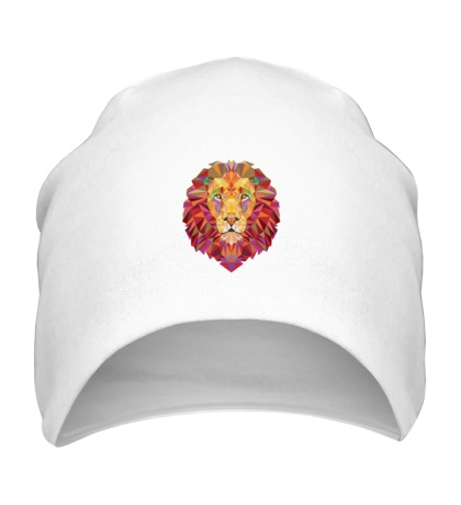 Шапка Абстрактный лев