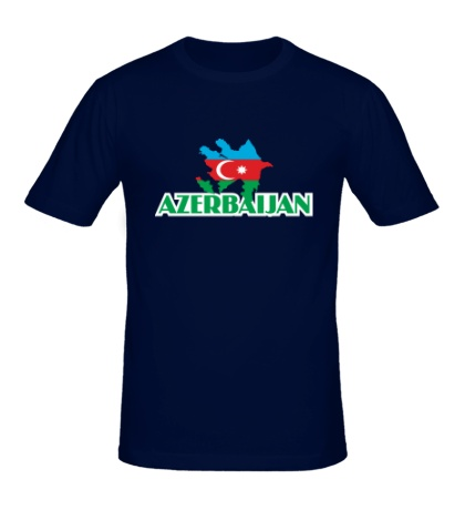Мужская футболка Azerbaijan