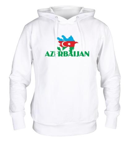 Толстовка с капюшоном Azerbaijan