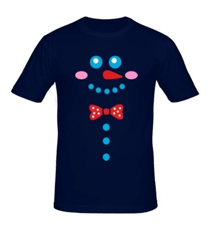 Мужская футболка Я снеговичок
