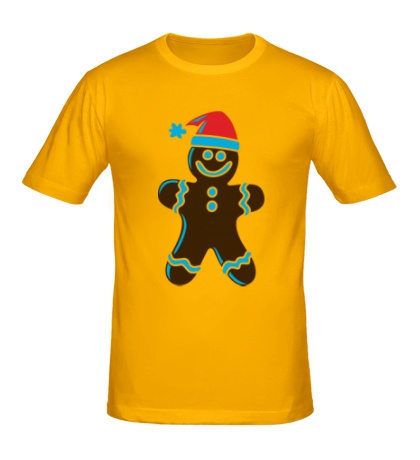 Мужская футболка Рождественская печенька