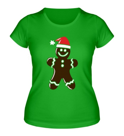 Женская футболка Рождественская печенька