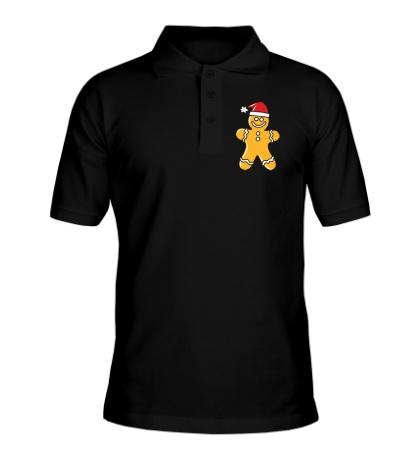 Рубашка поло Рождественская печенька