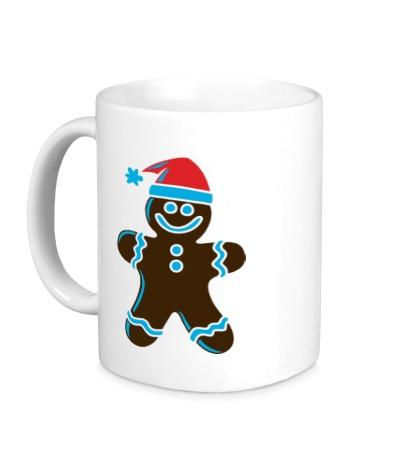 Керамическая кружка Рождественская печенька