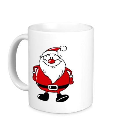 Керамическая кружка Дед мороз