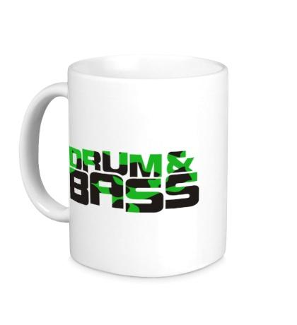 Керамическая кружка Drum & Bass