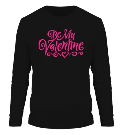 Мужской лонгслив Be my valentine