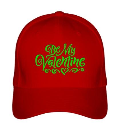 Бейсболка Be my valentine