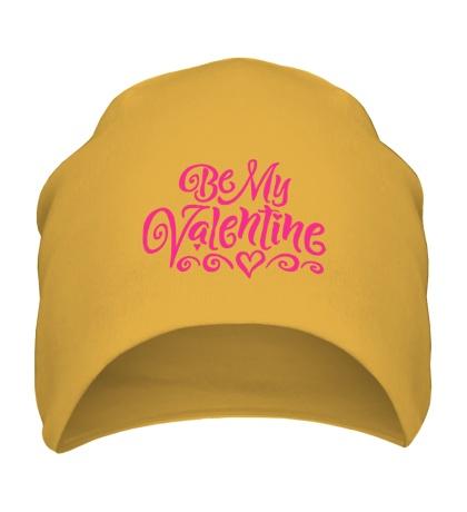 Шапка Be my valentine