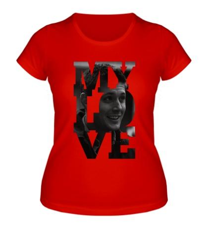 Женская футболка Dean Winchester My Love