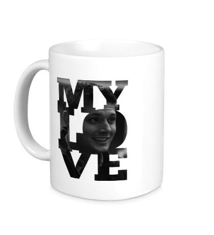 Керамическая кружка Dean Winchester My Love