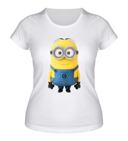 Женская футболка Веселый миньон