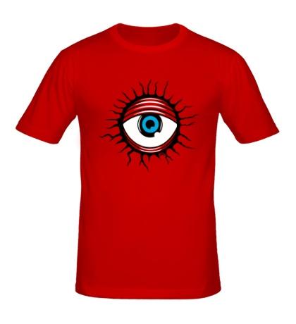Мужская футболка Демонический глаз