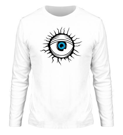 Мужской лонгслив Демонический глаз