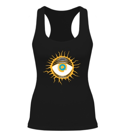 Женская борцовка Демонический глаз
