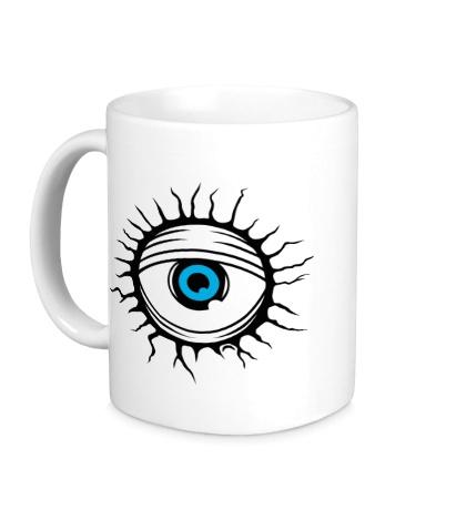 Керамическая кружка Демонический глаз
