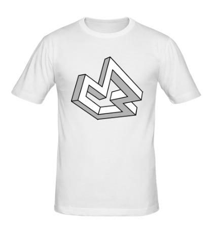 Мужская футболка Оптическая иллюзия