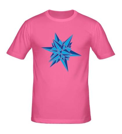 Мужская футболка Кристалическая звезда