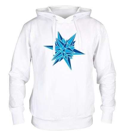 Толстовка с капюшоном Кристалическая звезда