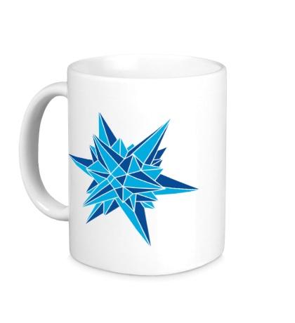 Керамическая кружка Кристалическая звезда