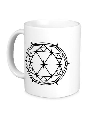 Керамическая кружка Алмаз