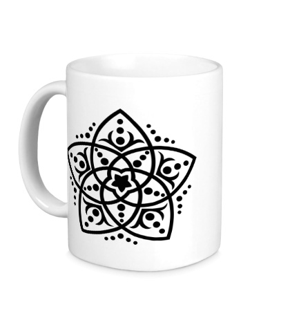 Керамическая кружка Звезда востока