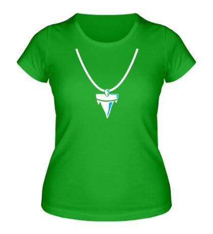 Женская футболка Акулий зуб