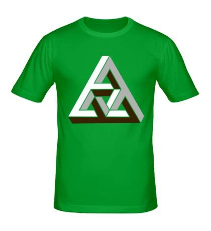 Мужская футболка Иллюзия