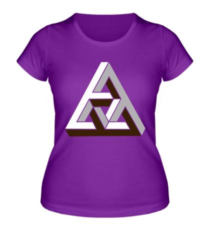 Женская футболка Иллюзия