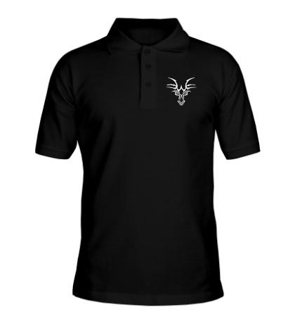 Рубашка поло Взгляд тату-дракона