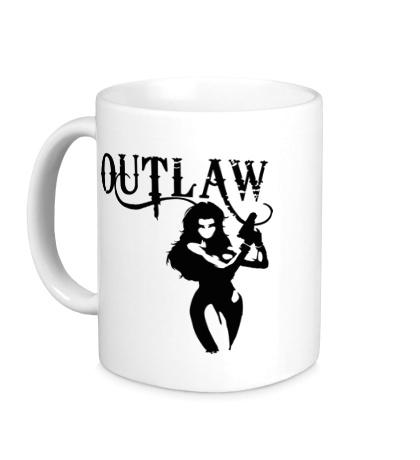 Керамическая кружка Outlaw