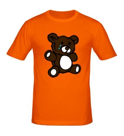 Мужская футболка Плюшевый медведь