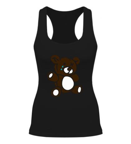 Женская борцовка Плюшевый медведь