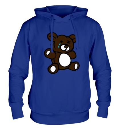 Толстовка с капюшоном Плюшевый медведь