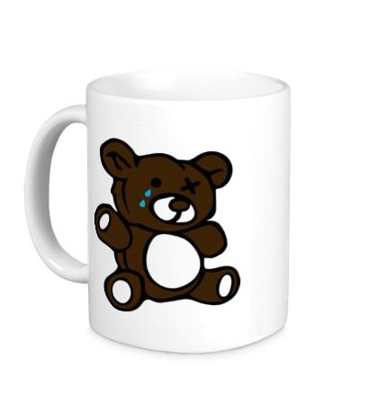 Керамическая кружка Плюшевый медведь