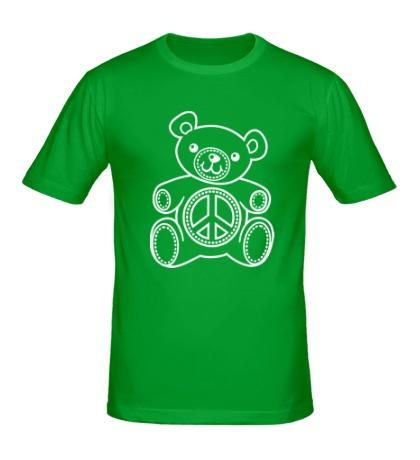 Мужская футболка Мишка плюшевый