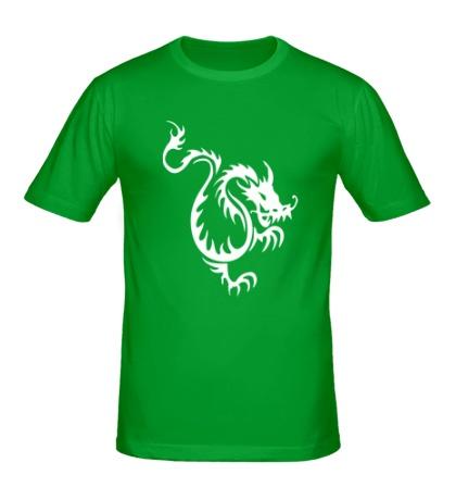 Мужская футболка Китайский водяной дракон