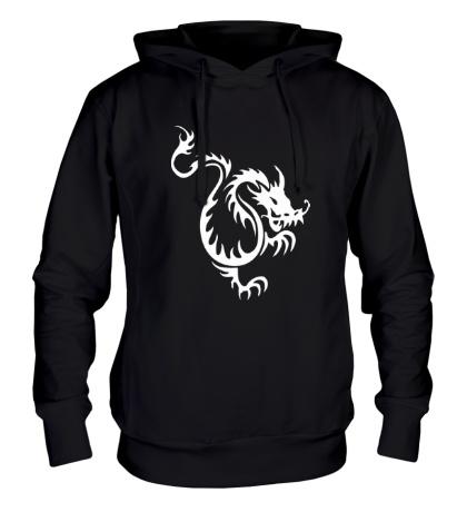 Толстовка с капюшоном Китайский водяной дракон